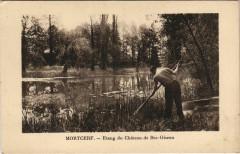 Mortcerf - Etang du Chateau de Bec-Oiseau - Mortcerf