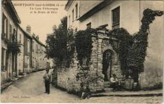Montigny-sur-Loing Uu Coin Pitt. et la Route de Grez - Montigny-sur-Loing