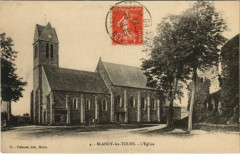 Blandy-les-Tours - L'Eglise - Blandy