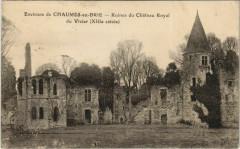 Env. de Chaumes-en-Brie - Ruines du Chateau Royal du Vivier - Chaumes-en-Brie