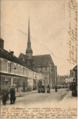 Egreville - Rue S'-Martin - Derriere de L'Eglise - Égreville