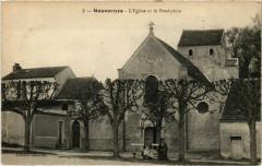 Gouvernes - L'Eglise et le Presbytere  - Gouvernes
