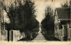 Gouvernes - Avenue du Chateau  - Gouvernes