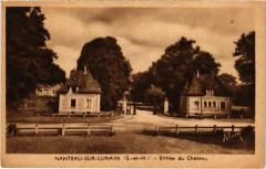Nanteau-sur-Lunain - Entree du Chateau  - Nanteau-sur-Lunain