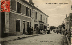 Acheres Rue du Commerce 77 Seine et Marne