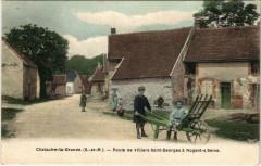 Chalautre-La-Grande Route de Villiers-St-geroges a Nogent-s/-seine - Chalautre-la-Grande