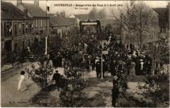 Aufferville Inaug des Eaux le 3 Avril 1910 Le Cortege - Aufferville