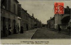 La Chapelle-la-Reine Rue de l'Hotel-de-Ville - La Chapelle-la-Reine