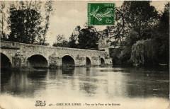 Grez-sur-Loing - Vue sur le Pont et les Ruines - Grez-sur-Loing
