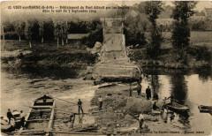 Ussy-sur-Marne - Deblaiement du Pont detruit par les - Ussy-sur-Marne