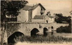 Grez-sur-Loing - Le Pont et le Moulin de'Hulay - Grez-sur-Loing