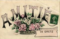 Amitié de Gretz 77 Seine et Marne