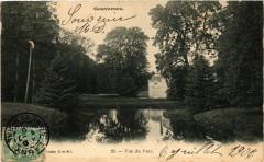 Gouvernes - Vue du Parc - Gouvernes