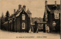 Abbaye des Vaux-de-Cernay - L'Entrée du Chateau 77 Seine et Marne