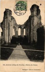 Ancienne Abbaye de Preuilly - Restes du Choeur 77 Seine et Marne