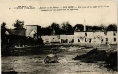 Guerre 1914-15 Bataille de la Marne Poligny Vue prise de la... - Poligny