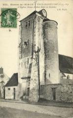 Guerre de 1914-18 - Vichy-Manoeuvre L'Eglise (tours - Ichy