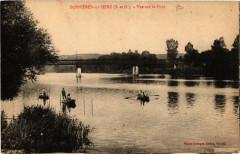 Bonnieres-sur-Seine Vue sur le Pont - Bonnières-sur-Seine