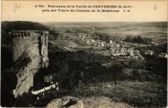 Chevreuse Panorama de la Vallée - Chevreuse