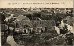 Chevreuse Le Plateau de Hautvilliers, vu du Chateau de la Madelein - Chevreuse