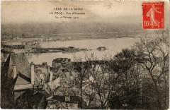 Crue de la Seine Le Pecq Vue d'Ensemble - Le Pecq