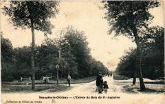 Neauphle-le-Chateau L'Entrée du Bois de Ste-Appoline - Neauphle-le-Château