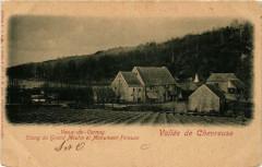Vallée de Chevreuse Vaux-de-Cernay Etang du Grand Moulin et - Chevreuse