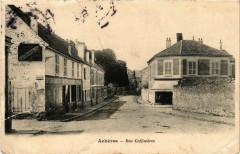 Acheres Rue Coffinieres - Achères