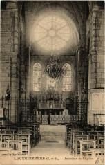 Louveciennes Intérieur de Eglise - Louveciennes