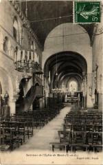 Maule Intérieur de Eglise - Maule