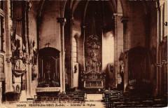 Neauphle-le-Vieux Intérieur de Eglise - Neauphle-le-Vieux