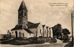 Saint-Remy-L'Honore L'Eglise, le Monument aux Morts - Saint-Rémy-l'Honoré