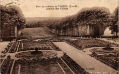 Thoiry Parc du chateau - Avenue des Tilleuls - Thoiry