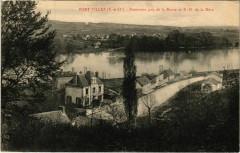 Pont Villez - Panorama pris de la Route de N D de la Mere - Méré