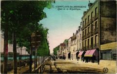 Conflans-Sainte-Honorine - Quai de la Republique - Conflans-Sainte-Honorine
