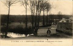 Saint-Nom-La-Breteche - L'Abreuvoir et le Lavour - Saint-Nom-la-Bretèche