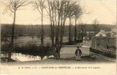 Saint-Nom-la-Breteche - L'Abreuvoir et le Lavoir - Saint-Nom-la-Bretèche