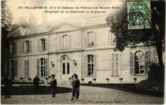Villepreux Chateau de Villepreux Facade Nord Propriete de la Comt - Villepreux