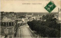 Saint-Cyr-l'Ecole - Avenue de l'Ecole - Saint-Cyr-l'École