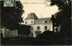 Acheres - Chateau vu du Parc - Achères