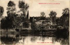 Bennecourt vu de Jeufosse - Bennecourt