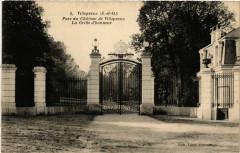Villepreux - Parc du Chateau de Villepreux - La Grille - Villepreux