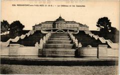 Rochefort-en-Yvelines - Le Chateau et les Cascades - Rochefort-en-Yvelines