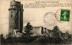 La Tour de Montlhéry côté sud-est - Linas