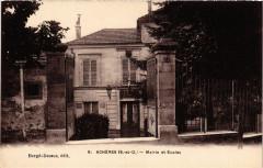 Acheres - Mairie et Ecoles - Achères