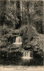 Villepreus - Parc du Chateau de Villepreux - Le Rocher et - Villepreux