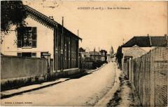 Acheres - Rue de St-Germain - Achères