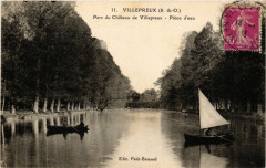 Villepreux - Parc du Chateau de Villepreux - Piece d'eau - Villepreux