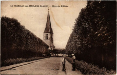 Le Tremblay-sur-Mauldre - Allée du Chateau - Le Tremblay-sur-Mauldre