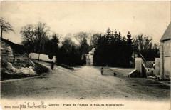 Davron - Place de l'Eglise et Rue de Montainville - Davron